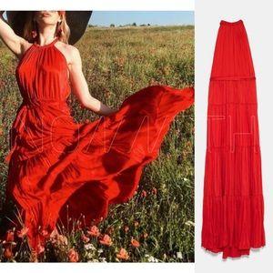 BLOGGERS FAVORITE! Zara Red dress